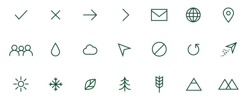 icons for CSU brand